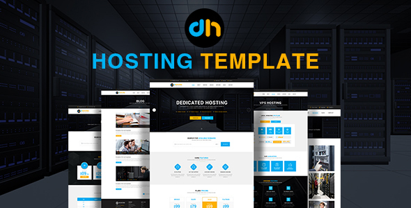 dHosting - Multi Purpose PSD Template - Hosting Technology TFx Nyoman Souma