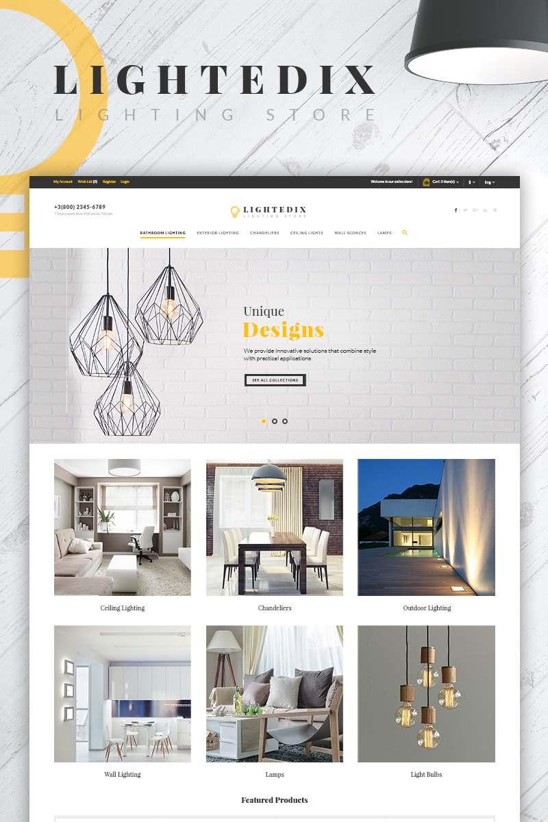 Lightedix - Lighting Store PrestaShop Theme TMT Dennis Loyd