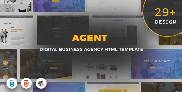 Agent – Digital Business Agency Template            TFx Erle Carlisle