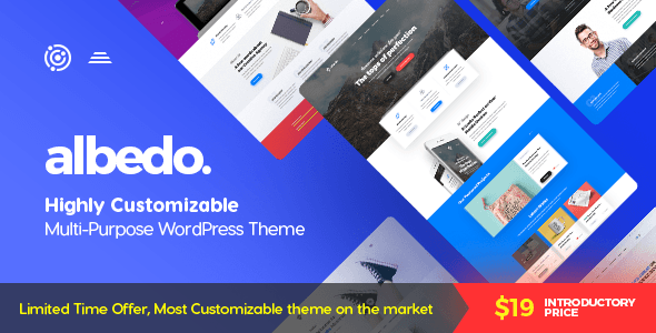 Albedo - Highly Customizable Multi-Purpose WordPress Theme            TFx Rube Algar