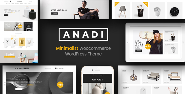 Anadi - WooCommerce Furniture WordPress Theme            TFx Clifton Richie
