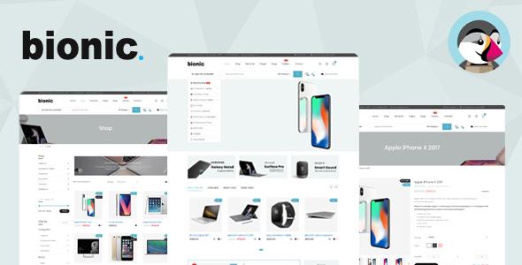 Bionic - Responsive Digital Store Prestashop Theme            TFx Oswin Rolf