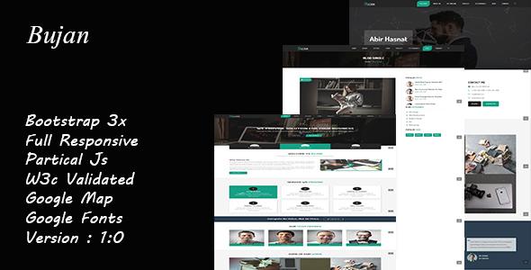 Bujan - OnePage Business Template            TFx Dwain Manuel