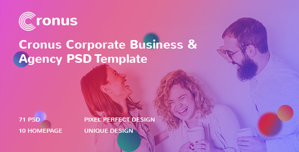 CRONUS - Corporate Business and Agency PSD Template            TFx Kirk Kyle