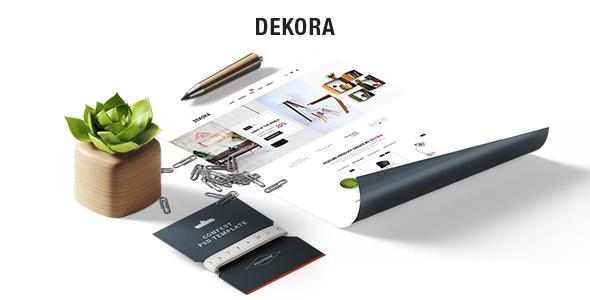 Dekora - Multipurpose Responsive Prestashop 1.7 Theme            TFx Oliver Henry