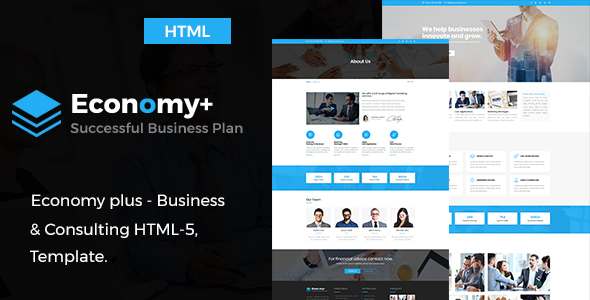 Economy Plus - Business Consulting and Professional Services HTML Template            TFx Barry Neal