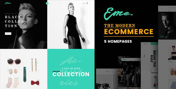Eme - Multipurpose eCommerce Template            TFx Headley Pacey