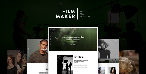 FilmMaker Drupal 8 Theme Movie Production – Video Blogger – Creative Agency            TFx Issac Garnett