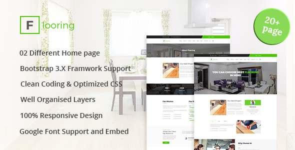 Flooring - Flooring, Tiling, Paving services HTML5 Responsive Template            TFx Vinal Barrie