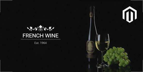 French Wine — Responsive Magento 2 Theme            TFx Silas Al