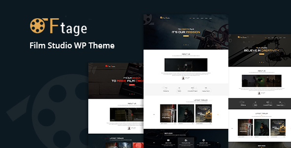 Ftage - Movie Film Marketing WordPress Theme            TFx Ichirou Thurstan