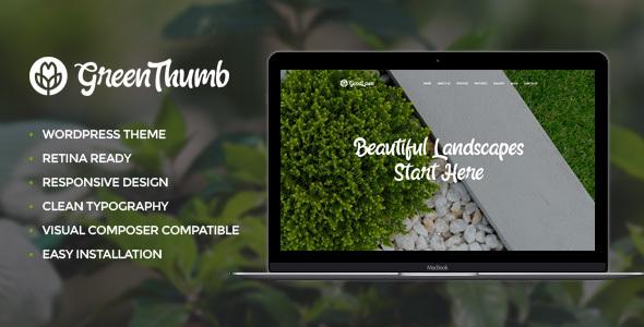Green Thumb | Gardening & Landscaping Theme            TFx Schuyler Douglas