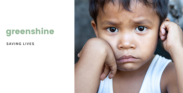 GreenShine - Charity / Non-Profit HTML Template            TFx Laird Alpha