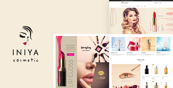 Iniya - Cosmetic WP Theme            TFx Zane Mike