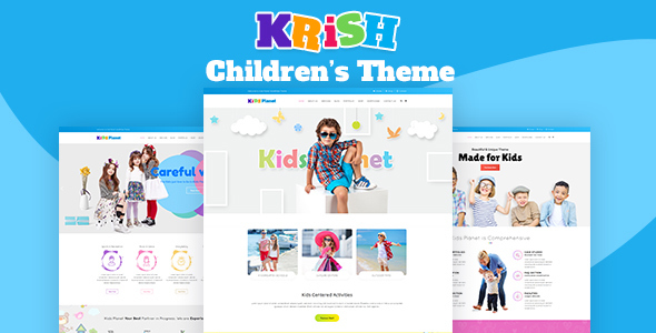 Krish | Multi Purpose Kids Theme            TFx Denholm Karekin
