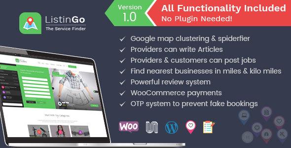 Listingo - Business Listing WordPress Directory Theme            TFx Guntur Sinclair
