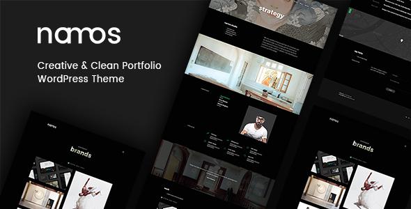 Namos - Creative One/Multi-Page Portfolio WordPress Theme            TFx Zak Reginald