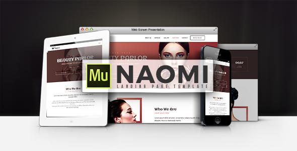 Naomi - Landing Page Template            TFx Lalawethika Sage
