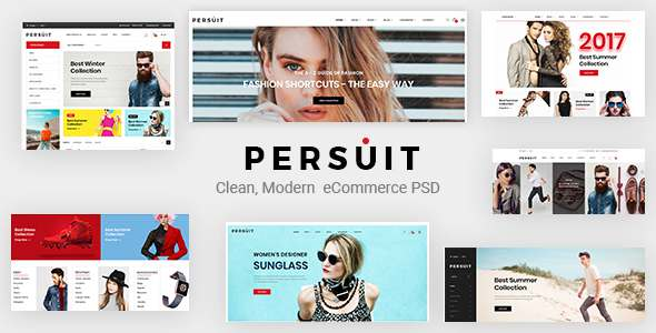 Persuit Multipurpose Ecommerce Template            TFx Johnnie Raynard