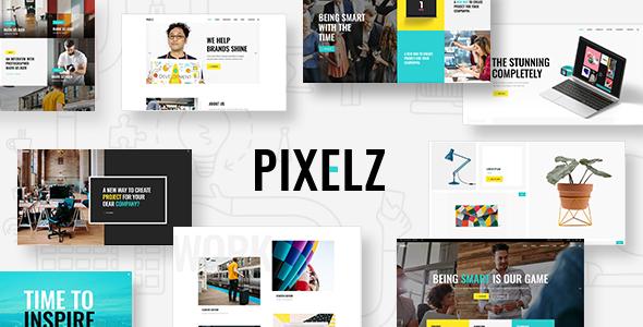 Pixelz - A Fresh Multipurpose Creative Theme            TFx Garrett Ralphie