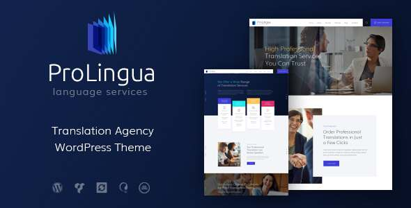 ProLingua | Translation Services WordPress Theme            TFx Korbin Harris