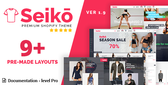 Seiko - Shopify Theme            TFx Tatton Harrison