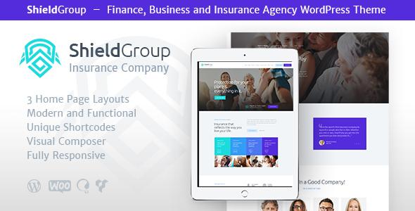ShieldGroup | Insurance & Finance WP Theme            TFx Darrel Clive