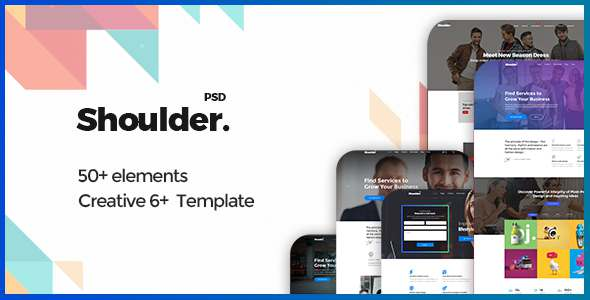Shoulder - Multi-Purpose Consulting - Business, Finance PSD Template            TFx Satchel Yoshiro