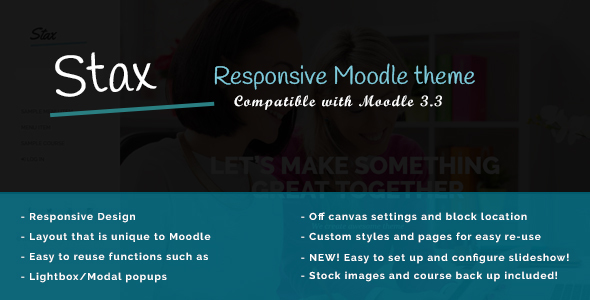 Stax - Build a Better Moodle            TFx Xerxes Barrie