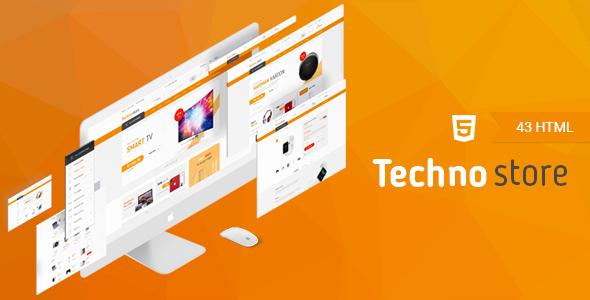 Techno Store - Electronic eCommerce HTML Template            TFx Dwayne Parris