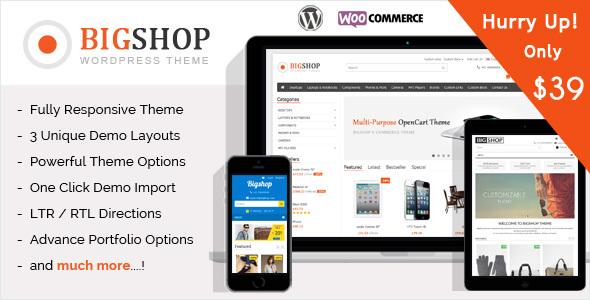 The Bigshop - WooCommerce WordPress Theme!            TFx Fredric Audley