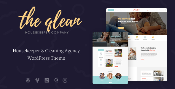The Qlean   Cleaning Company WP Theme            TFx Charlemagne Garrett