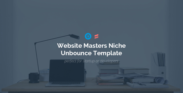 Website Masters – Niche Developers Unbounce Template            TFx Ali Merv