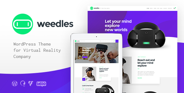 Weedles | Virtual Reality Landing Page & Store            TFx Nicky Sam