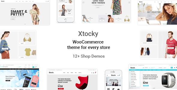 Xtocky - WooCommerce Responsive Theme            TFx Dominick Erle