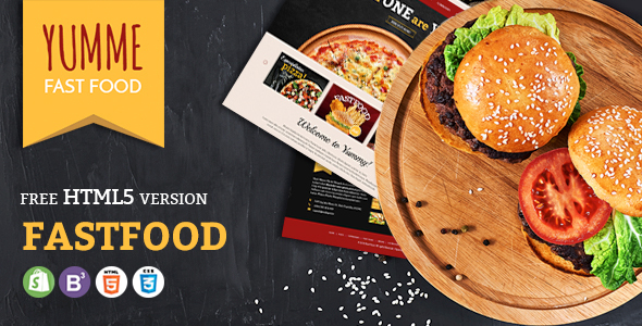 Yumme - Shopify Theme for Pizza, Food, Coffee & Drink Restaurant Bar Cafe Shop Takeaway Delivery            TFx Rupert Ernest