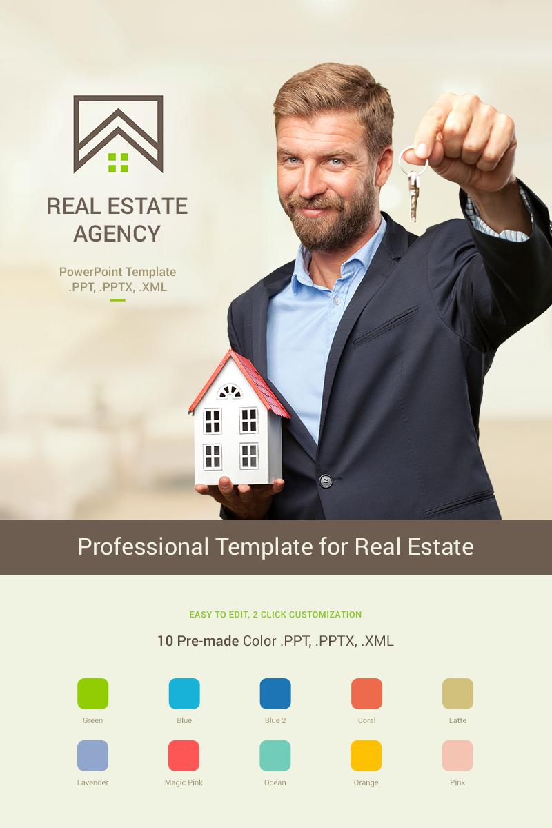 Real Estate Presentation PowerPoint Template TMT Yuda Ryou