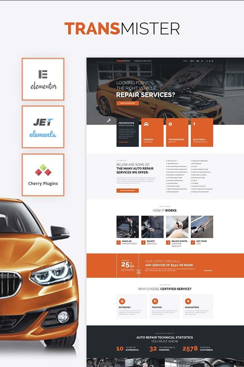 Transmitter – Car Repair WordPress Theme TMT Lynton Wolf