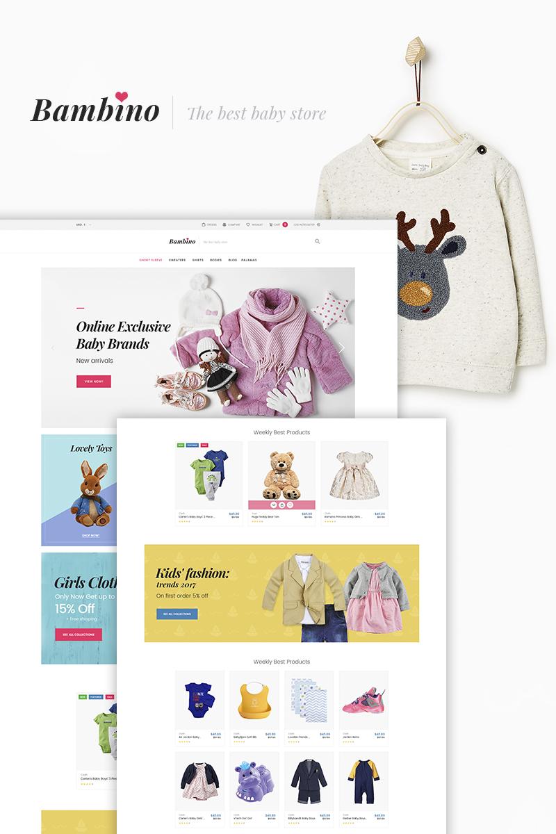 Bambino - Baby Store Responsive WooCommerce Theme TMT Grady Jamey