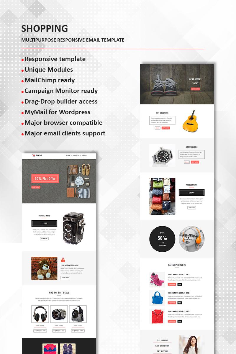 Shopping - Multipurpose Responsive Newsletter Template TMT Stuart Glen