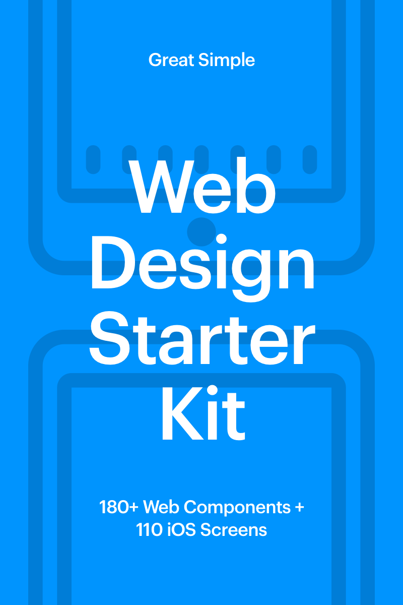 Web Design Starter Kit UI Elements TMT Bailey Shouhei