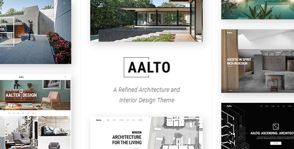 Aalto - A Refined Architecture and Interior Design Theme            TFx Farley Leonardo