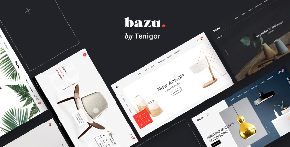 BAZU | Multi-Purpose Responsive eCommerce PSD Template            TFx Caligula Lane