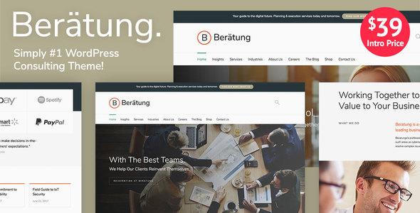 Beratung - Multi-Purpose Business & Consulting WordPress Theme            TFx Gorden Colbert