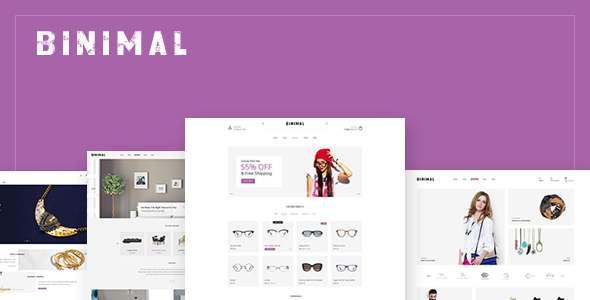 Binimal – Minimalist Multipurpose WooCommerce Theme            TFx Briscoe Zackery