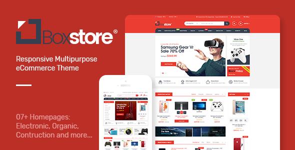 BoxStore - Multipurpose Magento Theme            TFx Diggory Erick