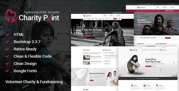 Charity Point - Charity & Fund Raising HTML Template            TFx Knox Grigor