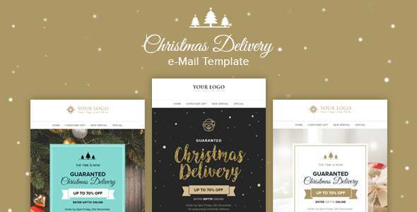 Christmas - Multipurpose Email Template + Builder Access            TFx Kelley Sukarno