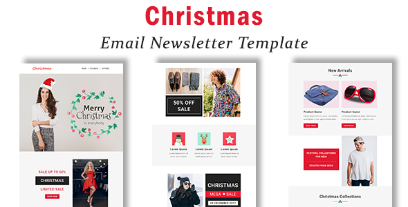 Christmas – Responsive Email Template with Stampready Builder Access            TFx Ernest Daren