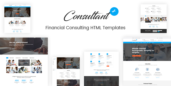 Consolution - Financial Consulting HTML Templates            TFx Tye Allen